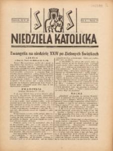 Niedziela Katolicka, 1938, R. 6 [właśc. 7], nr 47