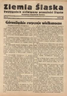 Ziemia Śląska, 1935, R. 9, nr 6