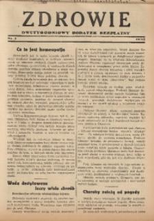 Zdrowie, 1935, nr 1