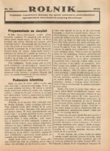 Rolnik, 1935, [R. 33], nr 22a