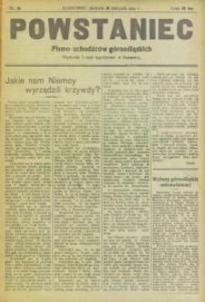Powstaniec, 1919, nr 18
