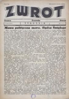Zwrot. Prawo, prawda, praca, 1937, R. 1, nr 3