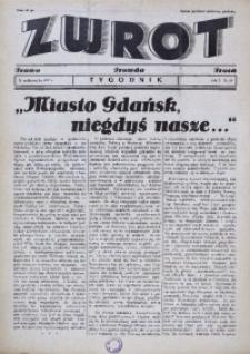Zwrot. Prawo, prawda, praca, 1937, R. 1, nr 13