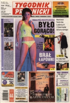 Tygodnik Prudnicki : gazeta lokalna gmin [...]. R. 16, nr 23 (758).