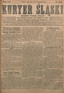 Kuryer Śląski, 1915, R. 7 [właśc. 9], nr 247
