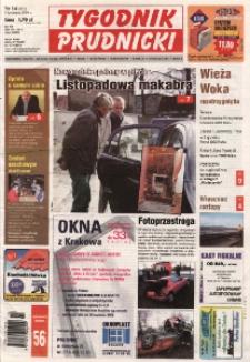 Tygodnik Prudnicki : prywatna gazeta lokalna gmin [...]. R. 17, nr 14 (801).
