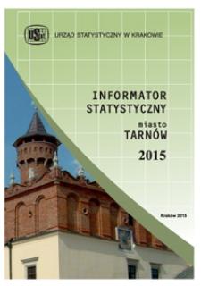 Informator statystyczny - miasto Tarnów 2015