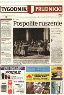 Tygodnik Prudnicki : prywatna gazeta lokalna gmin [...]. R. 17, nr 42 (824) [829].