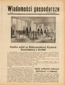 Wiadomości Gospodarcze, 1938, nr 8