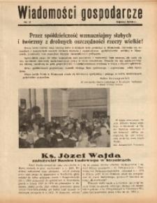 Wiadomości Gospodarcze, 1938, nr 9