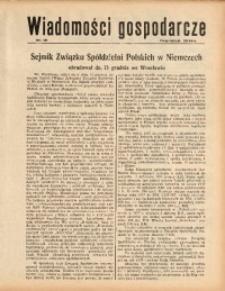 Wiadomości Gospodarcze, 1938, nr 16