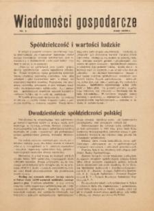 Wiadomości Gospodarcze, 1939, nr 3
