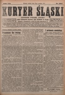 Kuryer Śląski, 1915, R. 7 [właśc. 9], nr 284