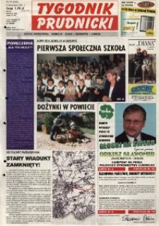 Tygodnik Prudnicki : gazeta powiatowa : Prudnik, Biała, Głogówek, Lubrza. R. 12, nr 35 (562).