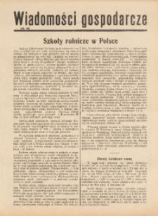 Wiadomości Gospodarcze, 1937, nr 10