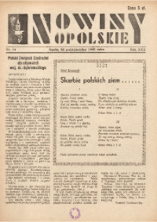 Nowiny Opolskie, 1946, R. 30, nr 11