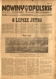 Nowiny Opolskie, 1947, R. 31, nr 7