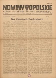 Nowiny Opolskie, 1947, R. 31, nr 20