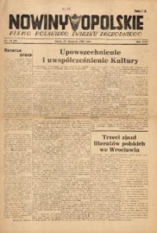 Nowiny Opolskie, 1947, R. 31, nr 44