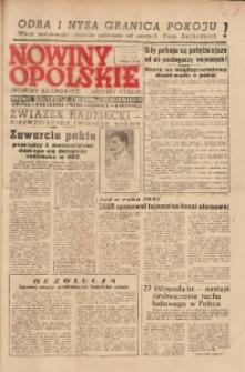 Nowiny Opolskie, 1949, R. 33, nr 36