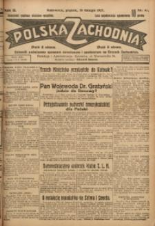 Polska Zachodnia, 1927, R. 2, nr 45