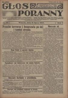 Głos Poranny, 1922, R. 1, nr 82