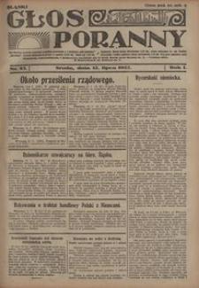 Głos Poranny, 1922, R. 1, nr 83