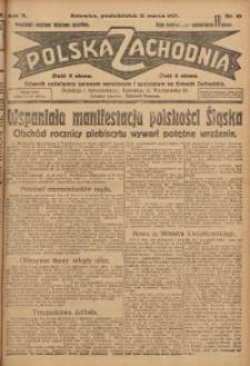 Polska Zachodnia, 1927, R. 2, nr 65