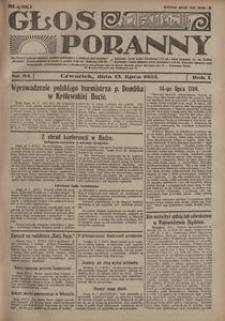 Głos Poranny, 1922, R. 1, nr 84