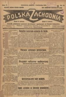 Polska Zachodnia, 1927, R. 2, nr 75