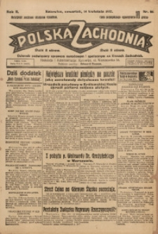 Polska Zachodnia, 1927, R. 2, nr 86