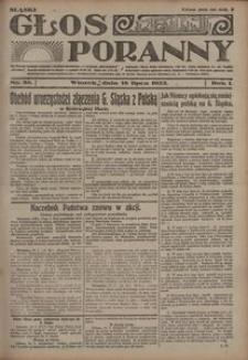 Głos Poranny, 1922, R. 1, nr 88