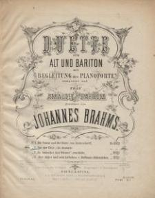 Duette für Alt und Bariton mit Begleitung des Pianoforte, Op. 28. No. 2, Vor der Thür