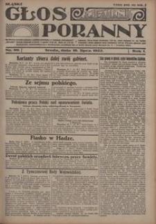 Głos Poranny, 1922, R. 1, nr 89