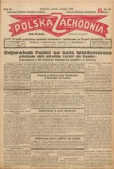 Polska Zachodnia, 1928, R. 3, nr 42