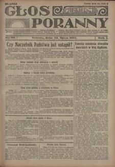 Głos Poranny, 1922, R. 1, nr 92