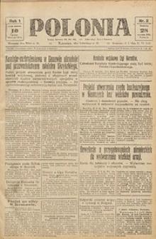 Polonia, 1924, R. 1, nr 2