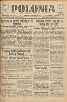 Polonia, 1924, R. 1, nr 16