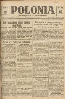 Polonia, 1924, R. 1, nr 73