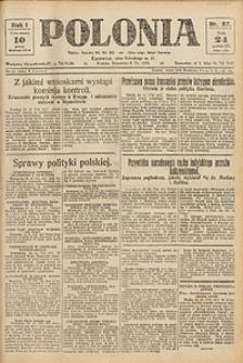 Polonia, 1924, R. 1, nr 87