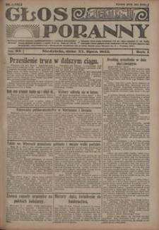 Głos Poranny, 1922, R. 1, nr 93