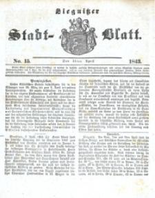 Liegnitzer Stadt-Blatt, 1843, No. 15