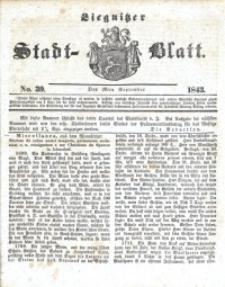 Liegnitzer Stadt-Blatt, 1843, No. 39
