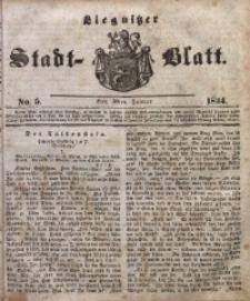 Liegnitzer Stadt-Blatt, 1844, No. 5