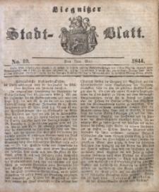 Liegnitzer Stadt-Blatt, 1844, No. 19