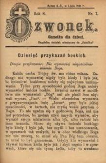 Dzwonek, 1901, R. 8, nr 7