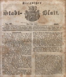 Liegnitzer Stadt-Blatt, 1845, No. 26