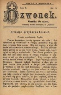 Dzwonek, 1901, R. 8, nr 11