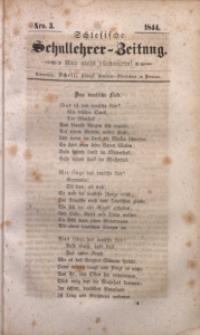 Schlesische Schullehrer-Zeitung, 1844, Jg. 2, Nro. 3