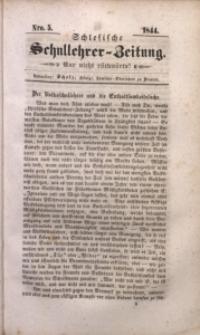 Schlesische Schullehrer-Zeitung, 1844, Jg. 2, Nro. 5